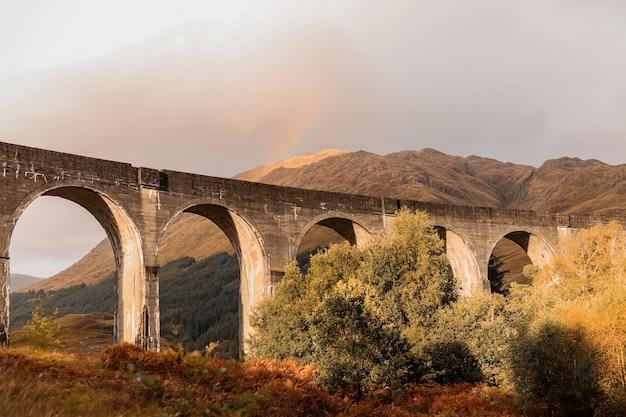 Harry potter-bruggen in de hooglanden