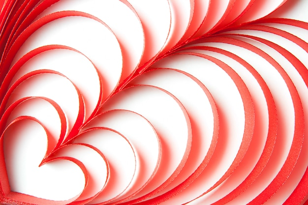 Hart lint patroon