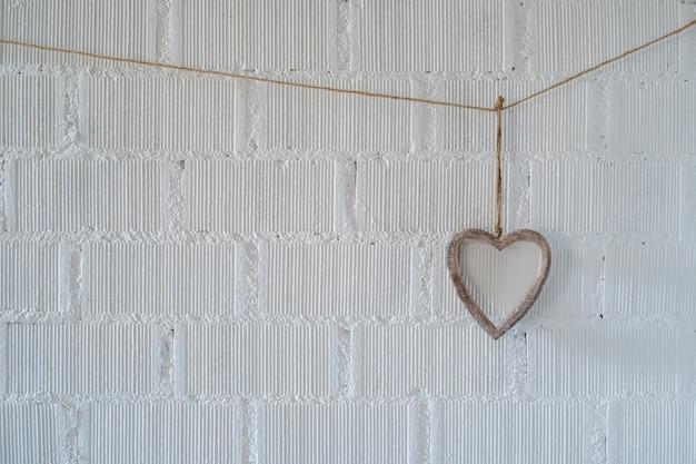 Hart valentijnsdag achtergrond
