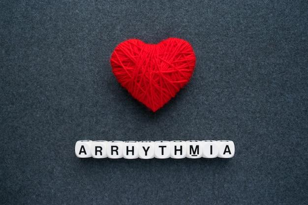 Hartritmestoornissen, hartritmestoornissen of een onregelmatige hartslag