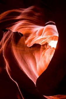 Hartvormige grot