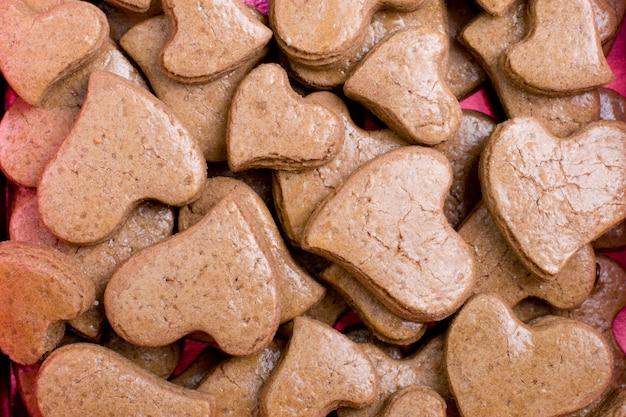 Hartvormige koekjes