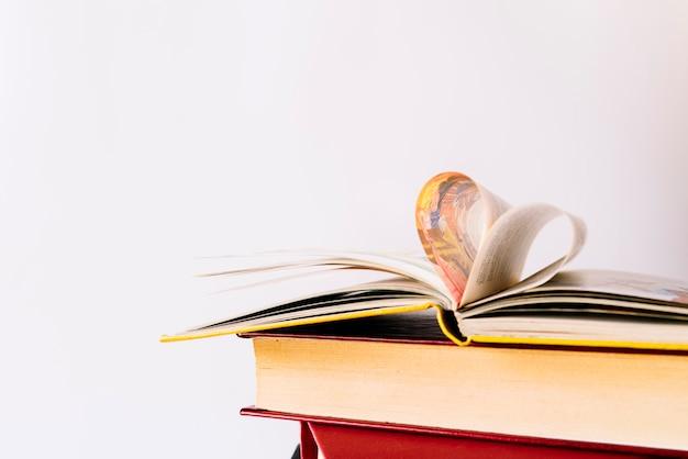 Hartvormige pagina's