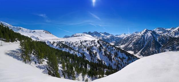 Haven bonaigua in de skitoevlucht van lerida catalonië