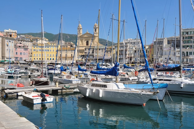 Haven van bastia - corsica