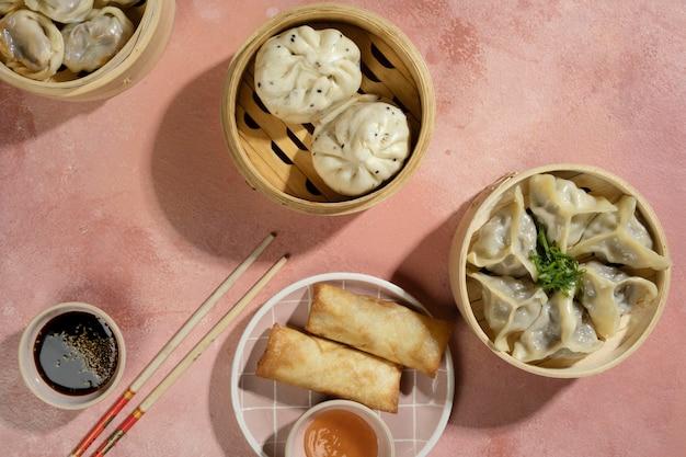 Heerlijk aziatisch eten arrangement