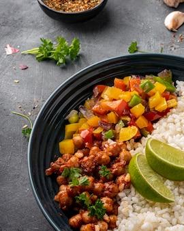 Heerlijk braziliaans eten arrangement
