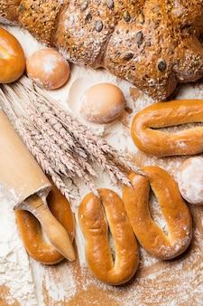 Heerlijk brood gemaakt van goede tarwe