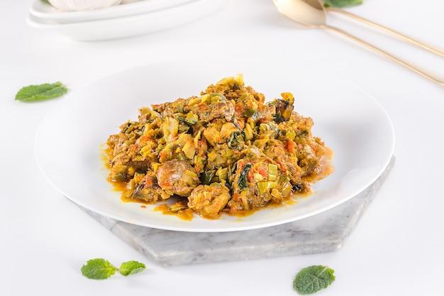 Heerlijk en gezond indonesisch eten ayam tinorangsak