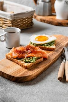 Heerlijk ontbijtmaaltijdassortiment
