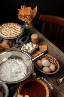 Heerlijk s'mores dessert assortiment