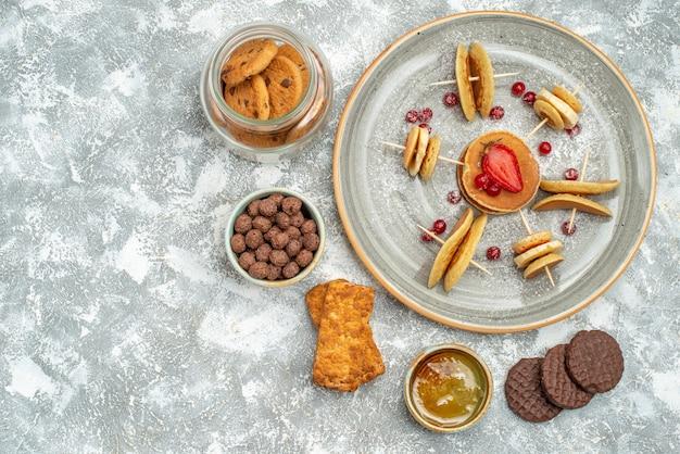 Heerlijk smakelijk dessert voor feest