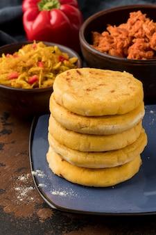 Heerlijk traditioneel eten arrangement