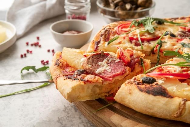 Heerlijk traditioneel pizzaregeling