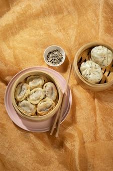 Heerlijke aziatische voedselsamenstelling