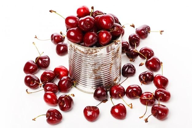 Heerlijke bessen op tafel