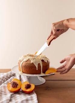 Heerlijke bundtcake met sinaasappel arrangement