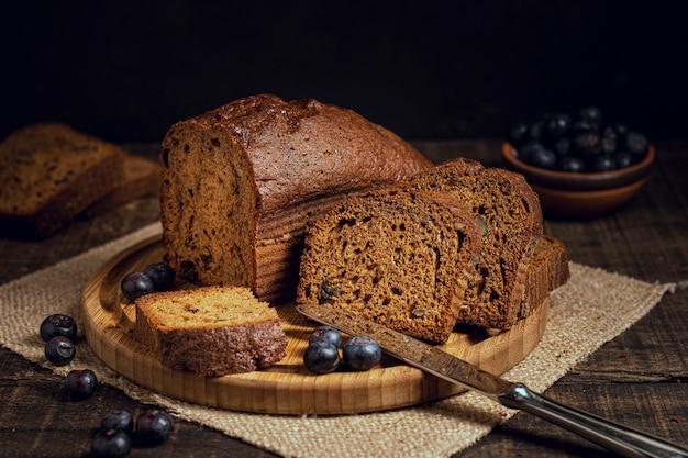 Heerlijke cake met bosbessen