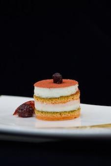 Heerlijke cake met chery