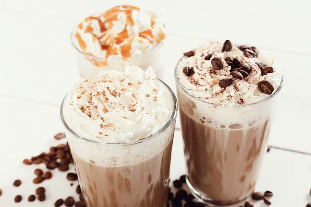 Heerlijke cappuccinokoffie