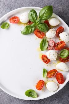 Heerlijke caprese salade