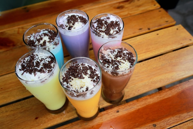 Heerlijke chocolademilkshake