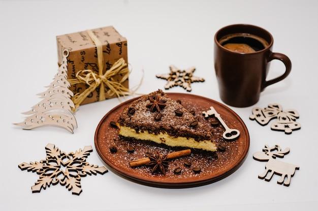 Heerlijke chocoladetaart met room
