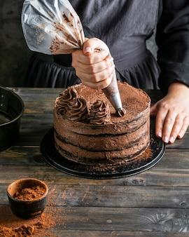 Heerlijke chocoladetaart