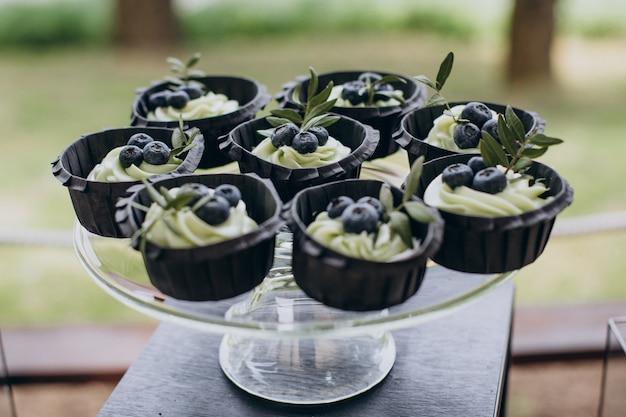 Heerlijke desserts catering op bruiloft