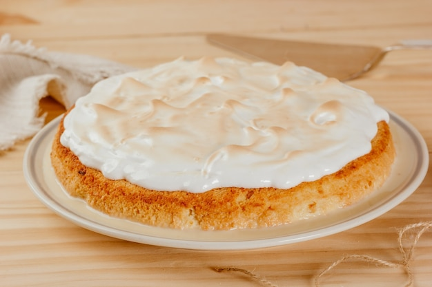 Heerlijke en sappige cake met drie melk, typisch latijns-amerikaans dessert