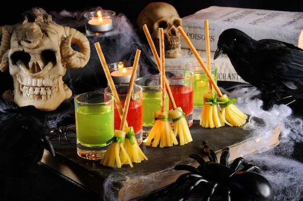 Heerlijke halloween-voorgerechten
