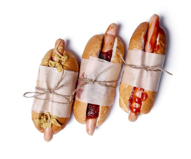 Heerlijke hotdog