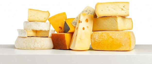 Heerlijke kaas op de tafel