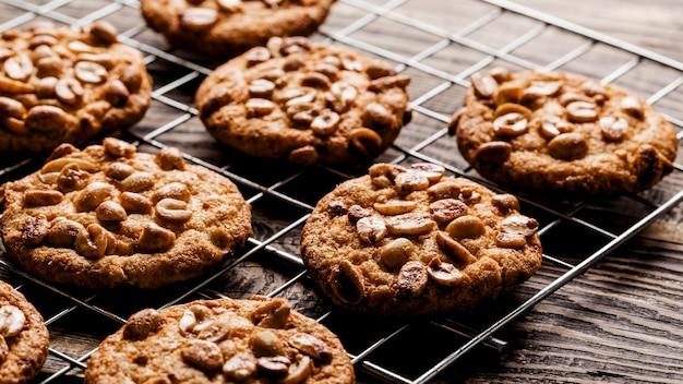 Heerlijke koekjes plat gelegd