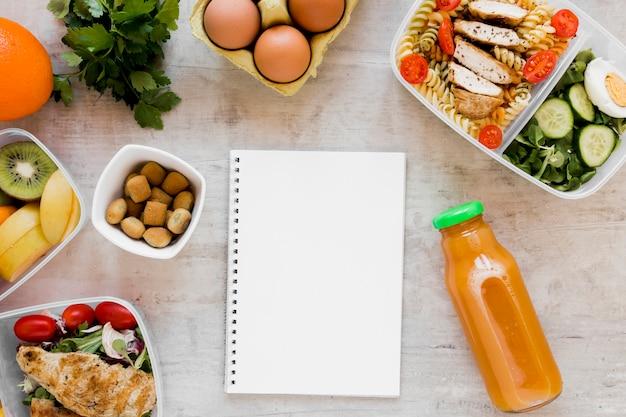Heerlijke maaltijd in containers assortiment