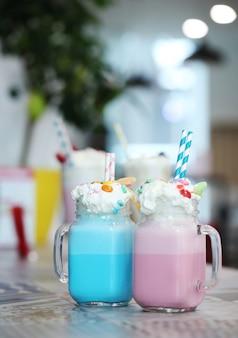Heerlijke milkshakes