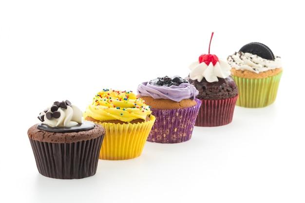 Heerlijke muffins met verschillende smaken