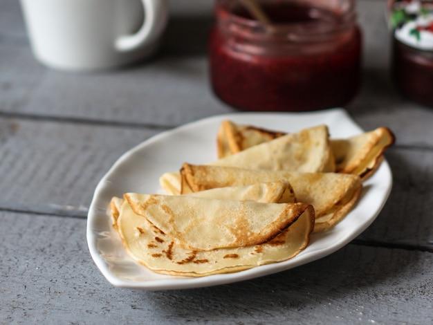 Heerlijke pannenkoeken voor het ontbijt