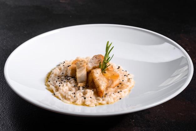 Heerlijke risotto met kipfilet