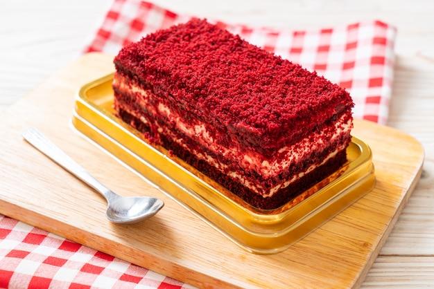 Heerlijke roodfluwelen cake