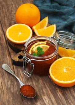 Heerlijke sinaasappeljam