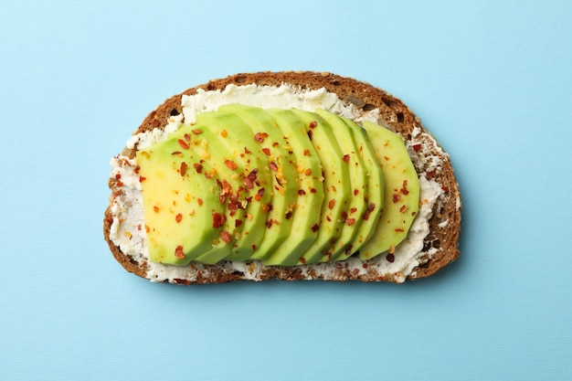 Heerlijke toast met avocado
