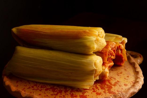 Heerlijke traditionele tamales samenstelling