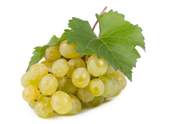 Heerlijke zoete bos groene druiven vers van de wijnstok