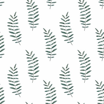 Helder beeld met de afbeelding van geschilderde planten