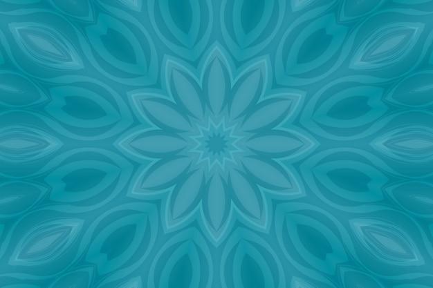 Helder gekleurde abstracte, vloeiende vormen en geometrie. gekleurde rondingen strepen Premium Foto
