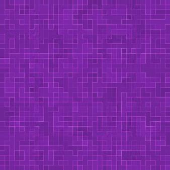 Helder paars vierkant mozaïek voor textuur.
