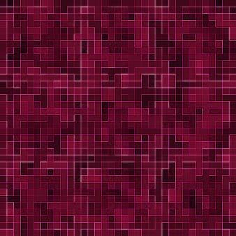 Helder paars vierkant mozaïek voor textuurachtergrond