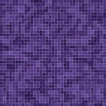 Helder paars vierkant mozaïek voor textuurachtergrond.