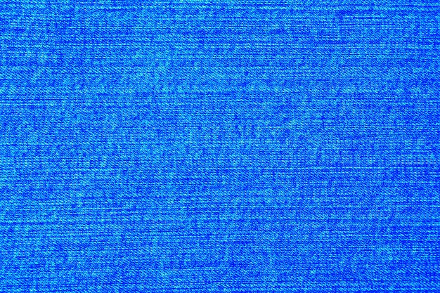 Helderblauwe denim textuur